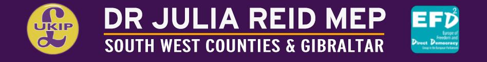 Dr Julia Reid – UKIP MEP